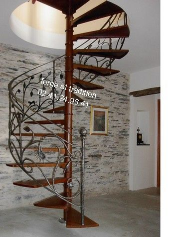 escalier rampe banister iron work stairs fer forge 49. Black Bedroom Furniture Sets. Home Design Ideas