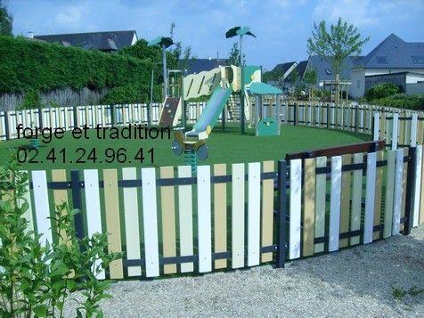 cloture jardin d\'enfants