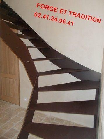 escalier tole acier fer 49 angers. Black Bedroom Furniture Sets. Home Design Ideas