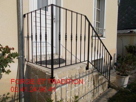 Garde corps exterieurs for Rampe d escalier exterieur en fer forge