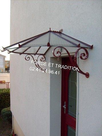 Portes d entree - Marquise de porte d entree ...