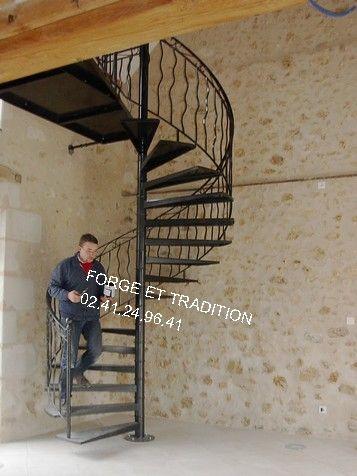 escalier angers 49 staircase acier metal fer rampe grilles. Black Bedroom Furniture Sets. Home Design Ideas